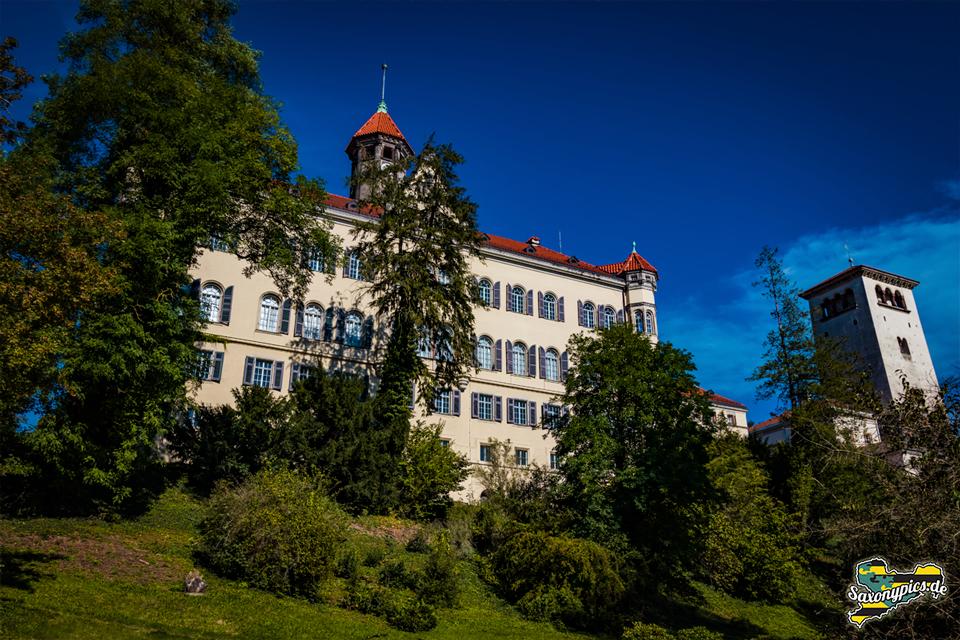 Schloss Waldenburg vom Schlosspark