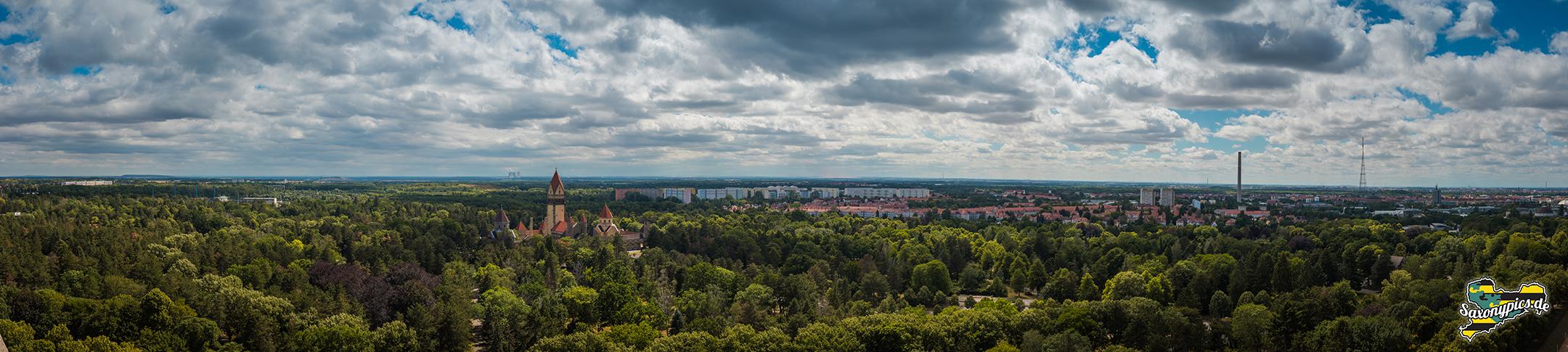 Panoramablick vom Volkerschlachtdenkmal01