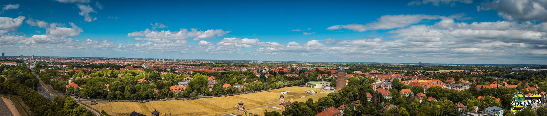 Panoramablick vom Volkerschlachtdenkmal02